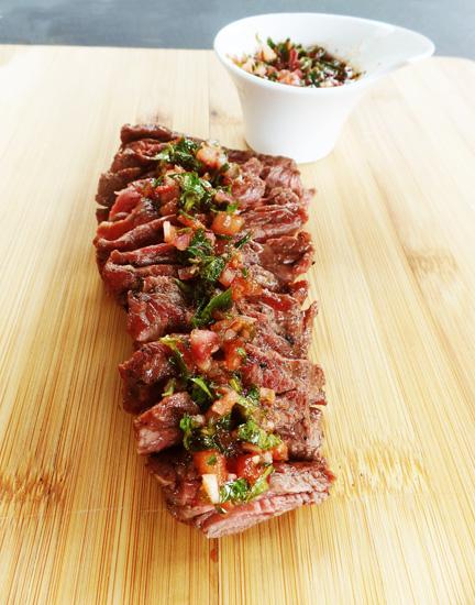 Bavette op de BBQ - Thomas Culinair