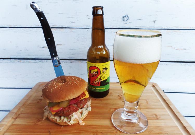Broodje hamburger van de BBQ recept - Thomas Culinair